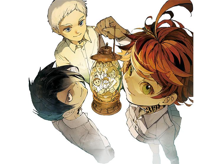 漫画賞を数多く獲得した『約束のネバーランド』が遂にアニメ化決定 ...